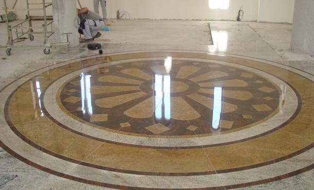 Mozaik u ckrvi u Andrićgradu