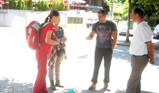 Planinari u Foči