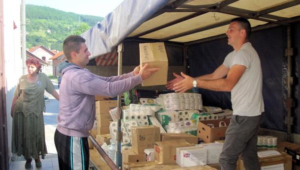 Pomoć iz Foče za Bijeljinu