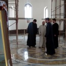 Pred Vidovdan u crkvi u Andrićgradu