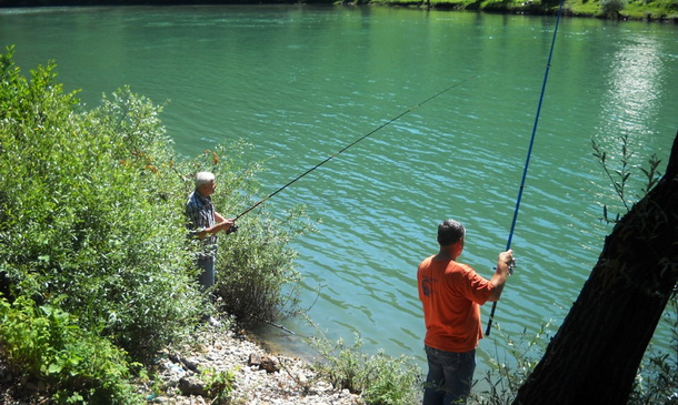Ribolovci u Foči