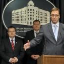 Vucic, Dodik, Dacic, i Kusturica u Beogradu