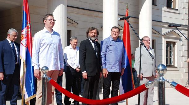 Vucic Kusurica i Dodik