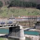 Zeljeznicki most u Foci