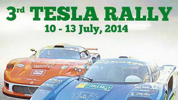 3 Tesla rally