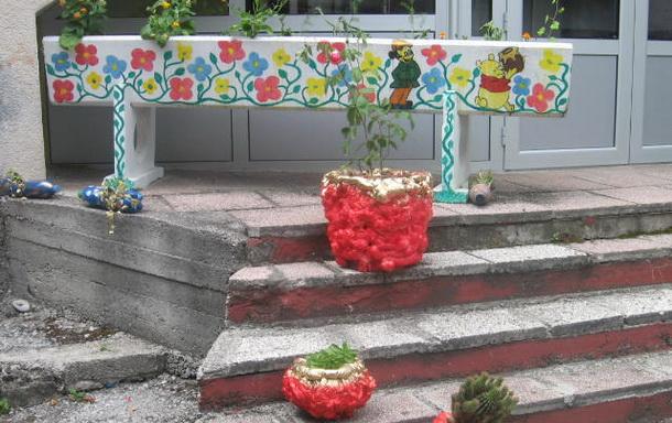 Dvorište obdaništa u Cajnicu