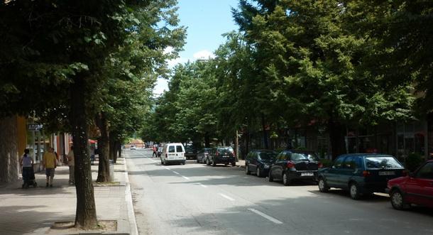 Glavna ulica u Foči
