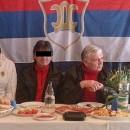 Slaviša Mišković ispod šatora