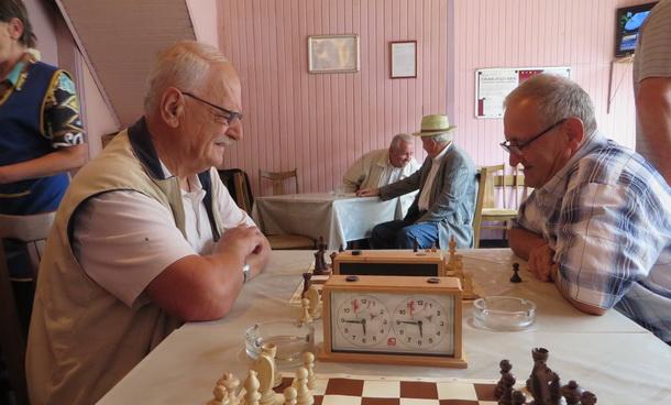 Šah penzionera u Rogatici