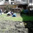 Uredjenje dvorista obdanista u Cajniu