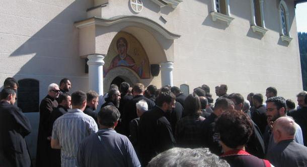 Vladika Grigorije u Cajnicu