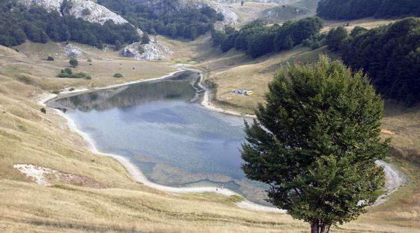 Jezero na Zelengori