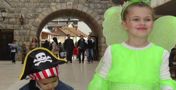 Maskenbal u Andricgradu