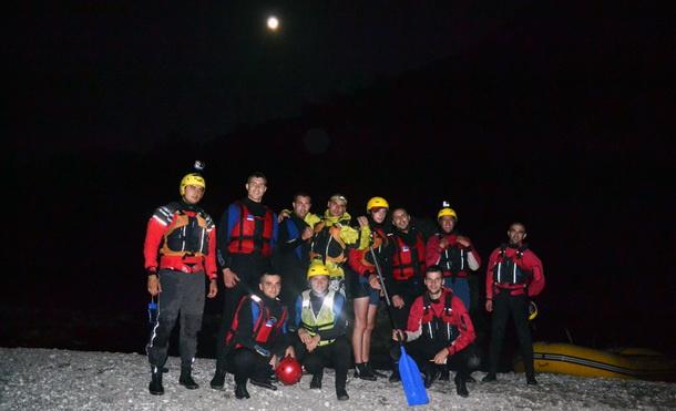 Mjesečev rafting na Tari