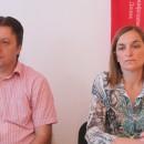 Pero Petrović i Sonja Mitrašinović