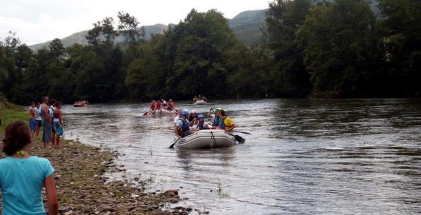 Rafting na Limu