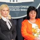 Snezana Bogosavljevic i Srebrenka Golic