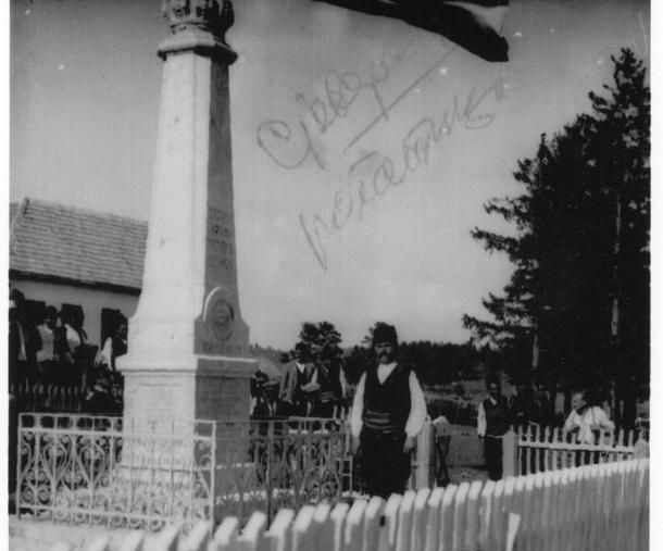 Spomenik na Sjeversku iz 1925