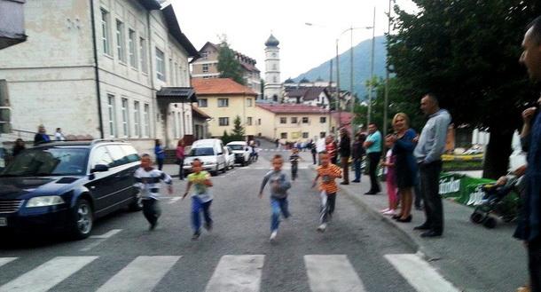 Ulicna trka u Cajnicu