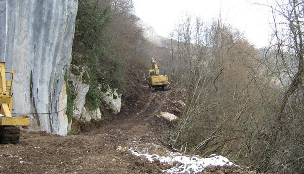 Izgradnja puta Stari Brod-Tatinica