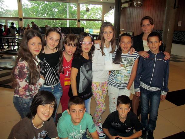 Mladi glumci u Lazarevcu