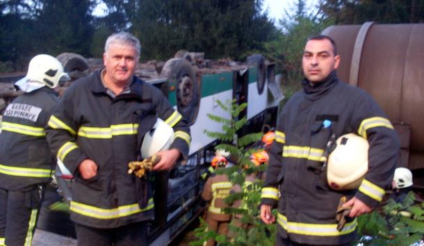 Rogaticki vatrogasci na obuci u Sloveniji