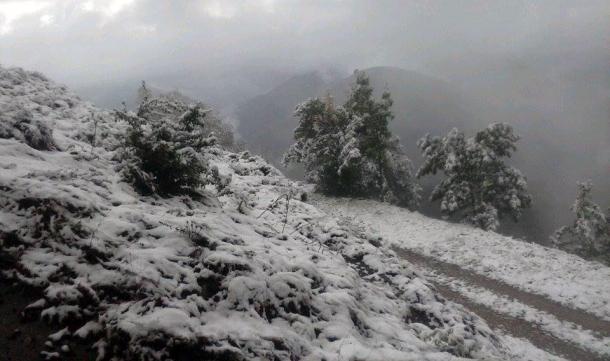 Snijeg na Kmuru