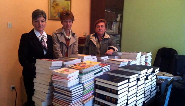 Nove knjige u Foci