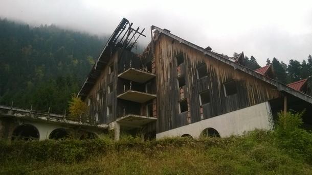 Pozar u Cajnicu