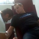 Davanje krvi u Foci