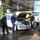 Kontrola vozila u Foci