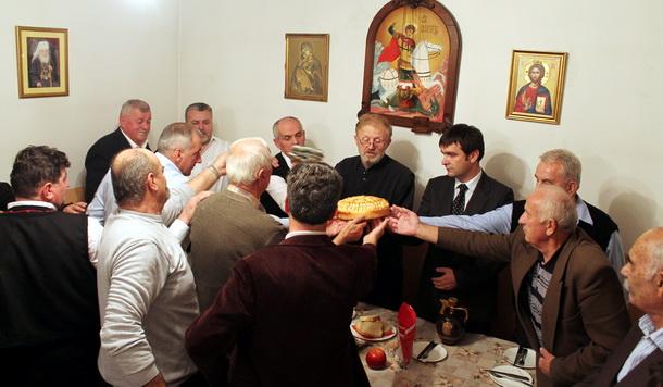 Slava u Novom Gorazdu