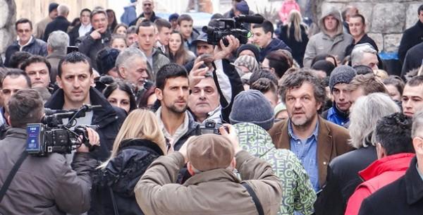 Novak Djokovic u Andricgradu