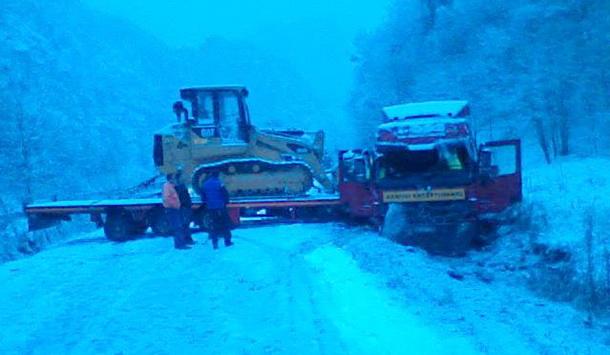 Sleper na snijegu u Dobrunu