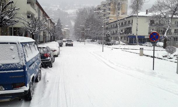Snijeg u Foci