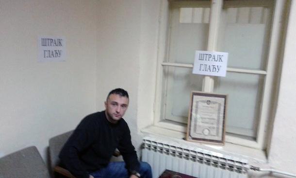 Zeljko Crnogorac-strajk