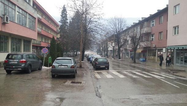 Glavna ulica u Foci-kisa