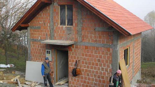 Izgradnja kuce u Foci
