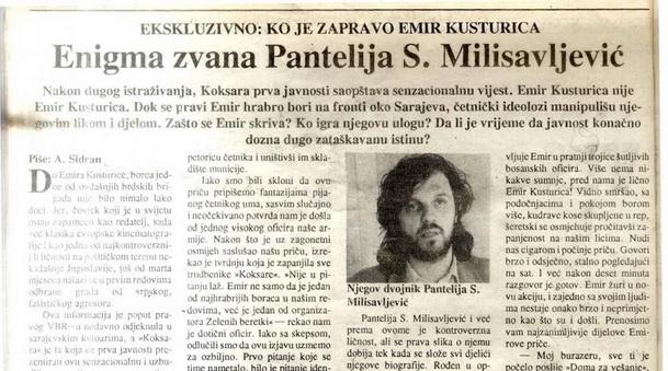 Kusturica-Pantelija novine mala