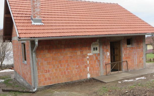 Rogatica-jedna od novoizgradjenih kuca raseljenim srbima
