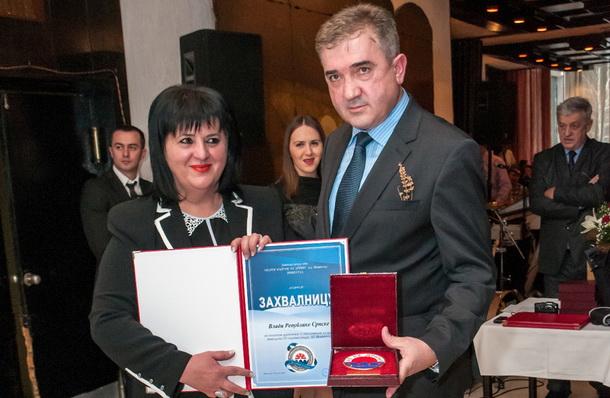 Srebrenka Golic i Mile Lakic