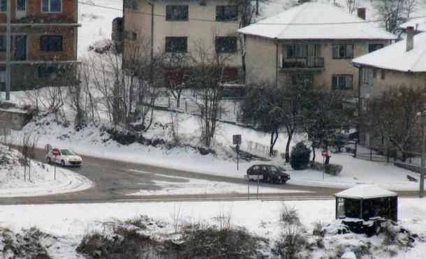 Snijeg u Visegradu putevi