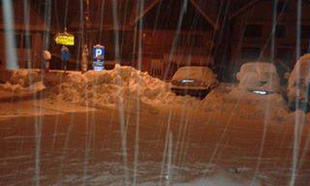 Snijeg u Cajnicu 2