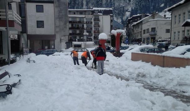 Snijeg u Cajnicu