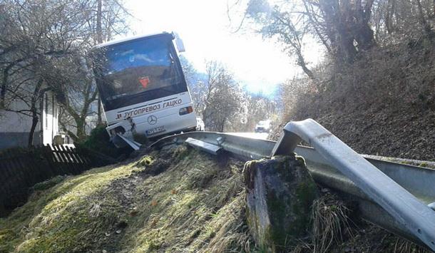 autobus sletio u Foci 2