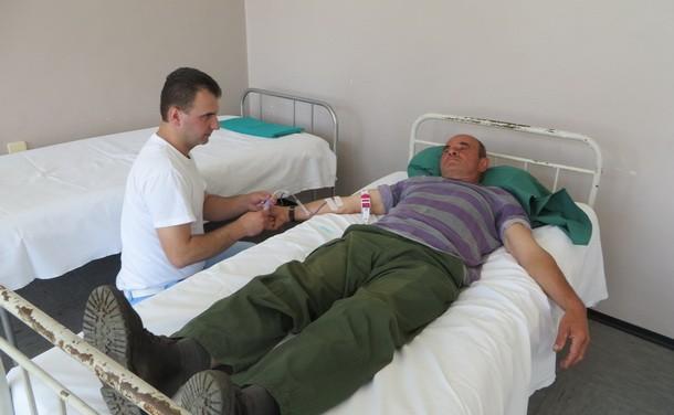 Davanje krvi u Rogatici