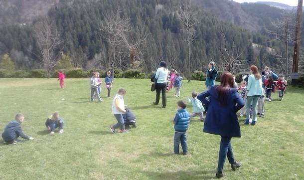 Djeca u hramu u Cajnicu 2