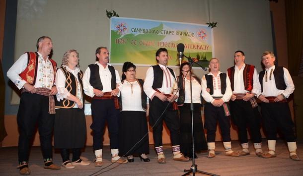 Koncert izvorne muzike u Foci