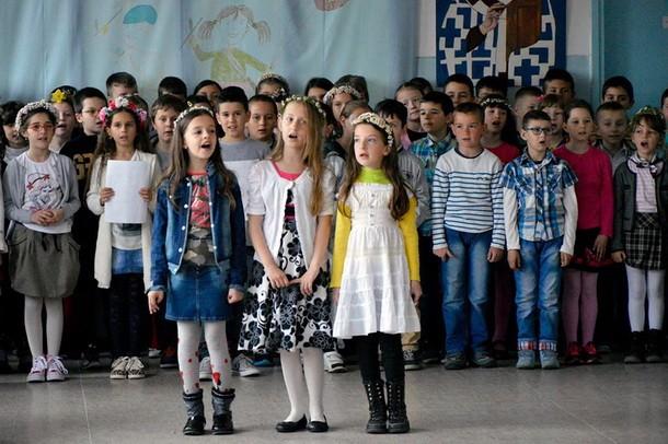 Osnovna skola u Visegradu Vaskrs