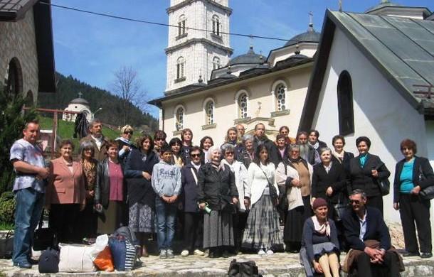 Poklonici iz H Novog u Cajnicu